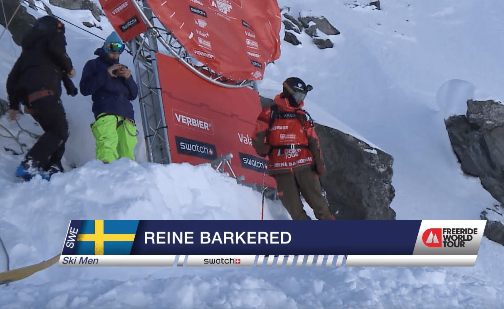 Reine Barkered -Freeride World Tour Verbier