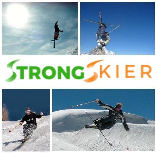 strong skier logo