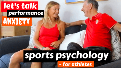 sports and performance anxiety