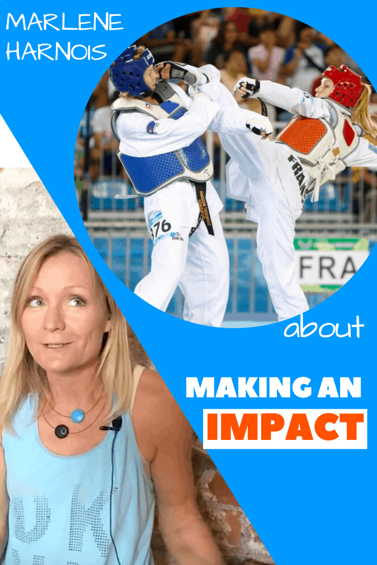 Marlene Harnois - making an impact after sport